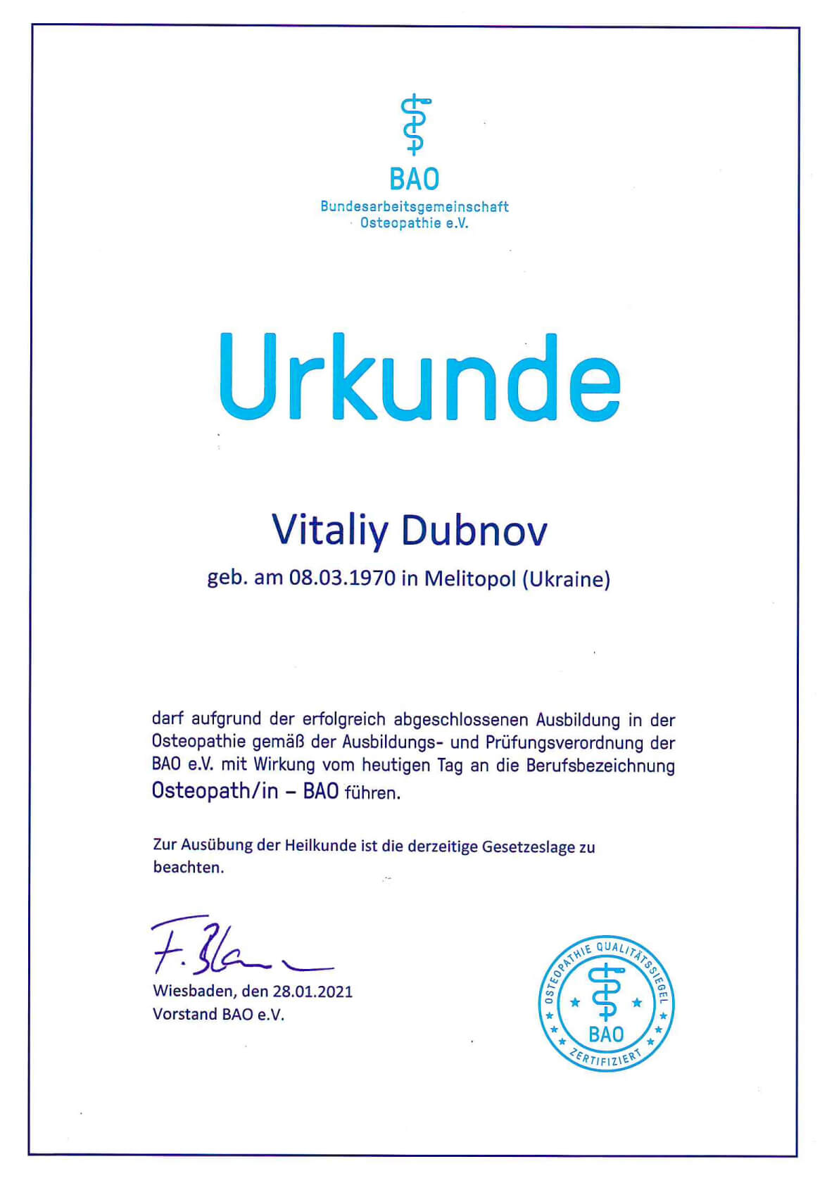 Dubnov_osteopath_zertifikat_1